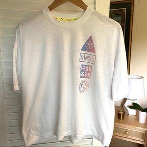 Puma x Selena Gomez SG White Cotton Sport T-Shirt